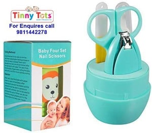Baby Manicure Nail Clippers Cutter Kit