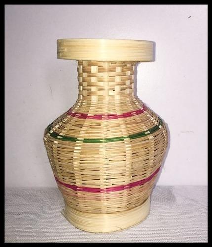 6 Inch Bamboo Handmade Flower Vase