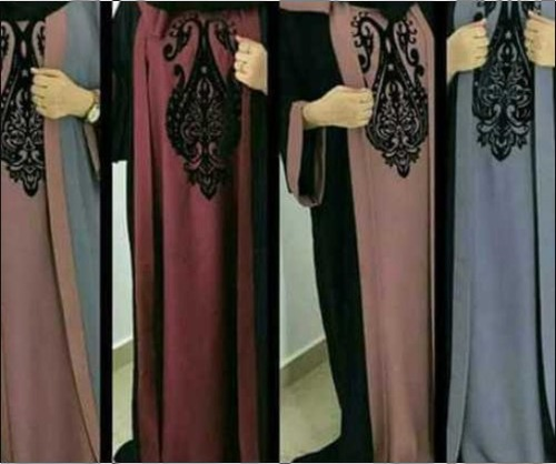Latest Beautiful Designer Dubai Abaya