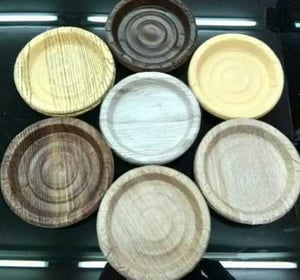 Round Mica Paper Plate