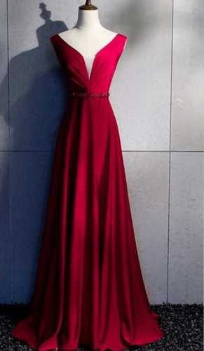 Ladies Evening Party Wear Gown