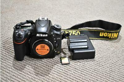 Nikon D750 Digital SLR DSLR Camera Body Only - Sensor