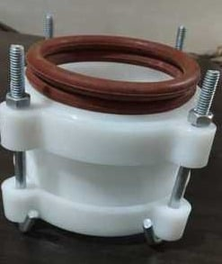 PVC Pipe D Joint