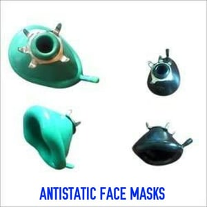 Antistatic Rubber Face Mask