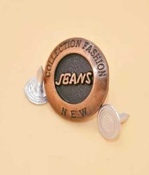 Fine Finished Jeans Button