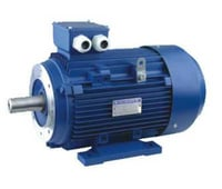 Blue Color AC Electric Motor