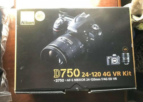 NIKON D750 VR KIT 24-120