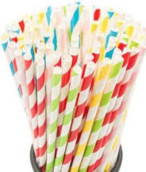 Disposable Colored Paper Straw