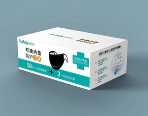 Non-woven Disposable Mask Pads With 2 Free Masks