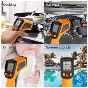 Light Weight Infrared Digital Thermometers