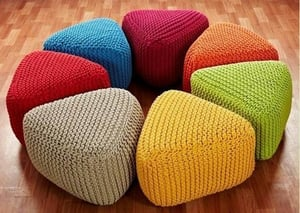 Fully Comfortable Puff Stool