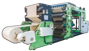 Automatic Reel to Sheet Ruling Printing Machine