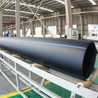 Black HDPE Water Supply Pipe