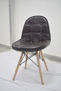 Cafeteria Chair with Rubberwood Legs