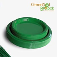 Greendot Biopaq Round LID (Compostable)