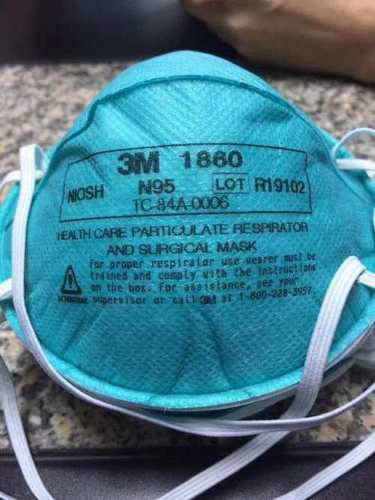 1860 N95 Protective Surgical Medical Disposable Face Mask