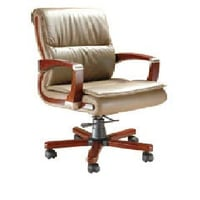 Low Back Office Chair (Brown)