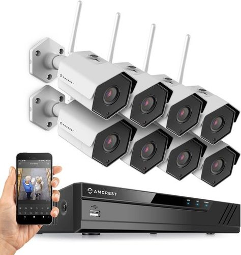 16CH Plug and Play H.265 4K NVR 2MP 1080P Security Camera System