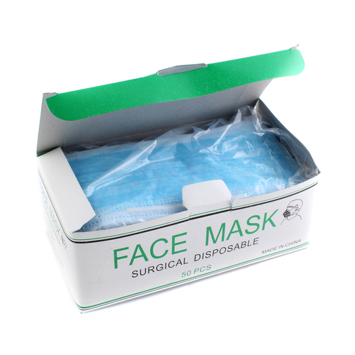 3 Ply Face Mask with Ear Loop