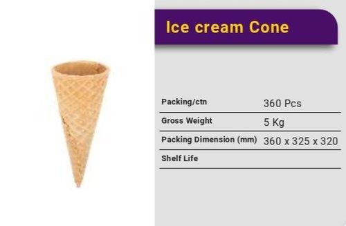 Crunchy Ice Cream Cone