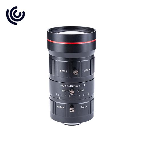 4K 10-40MM F1.4 Varifocal CCTV Lens