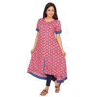 Womens Cotton A-line Dress