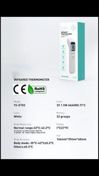Digital Portable Infrared Thermometer