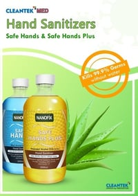 Safe Hand Plus Sanitizers