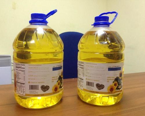 100% Natural Refined Sunflower Oil