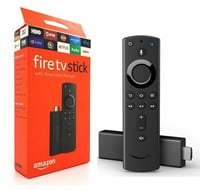 TV Stick 4K With All New Alexa Voice Remote Streaming Media Player (Amazon Fire)