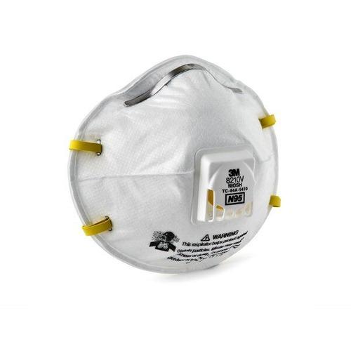 White Colored Respirator Mask