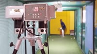 Adjustable Pace Attack Cricket Bowling Machine