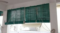 Balcony Green Curtains Blinds