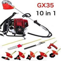 Backpack Brush Cutter With All Attachment