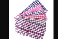 Cotton Checked Cleaning Cloth