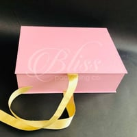 Pastel Ribbon Gift Box - Luxury Rigid Box