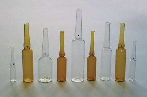 Clear Glass Ampoule Bottles
