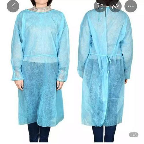 Blue Cover Disposable Surgical Gowns