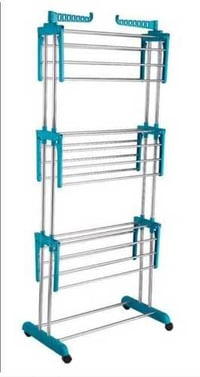 Stainless Steel and ABS Clothes Drying Rack