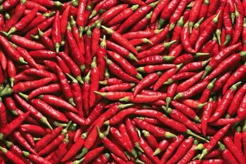 Hot Chilli Pepper Dry Red Chilli