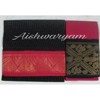 Party Wear Printed Ladies Traditional Cotton Saree with Blouse