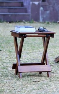 Brown Color Folding Table