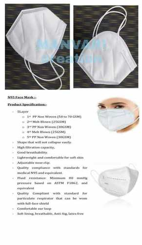 3 Ply Meltblown Surgical Mask