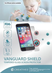 Vanguard Shield Tempered Glass Screen Protector