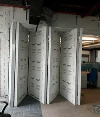 Clean Room Fixed Sliding Partition