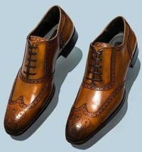 Brown Color Leather Shoes
