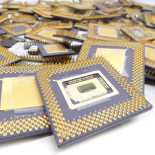 Computer Ceramic Processor Scrap
