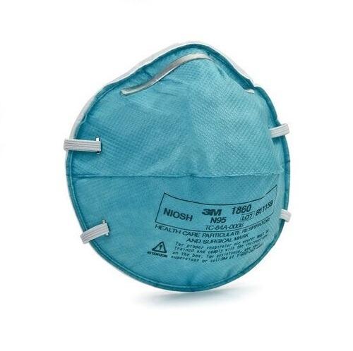 3M 1860 N95 Medical Respirator Face Mask