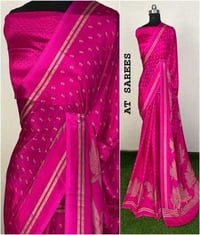 Designer Dolly Printed Saree With Running Blouse