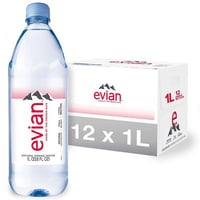 Evian Drinking Mineral Water